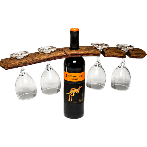 Barrel Stave Wine Hanger