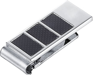 Lowden Carbon Fiber Stainless Steel Money Clip