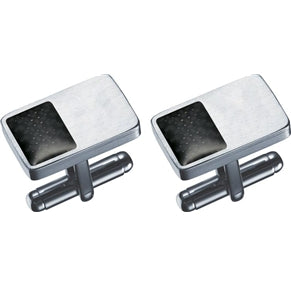 Envy Rectangular Stainless Steel Cufflinks