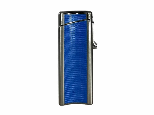 RIDGE BLUE SINGLE FLAME TORCH LIGHTER WITH CIGAR REST