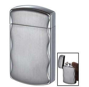Fireball Satin Chrome Cigarette Lighter