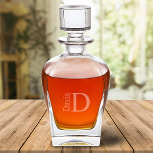 Personalized Antique 24 oz. Whiskey Decanter