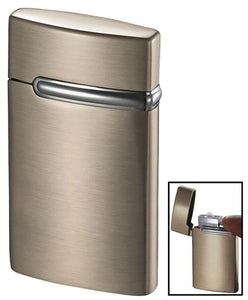 VALO SATIN NICKEL COIL FLAME LIGHTER