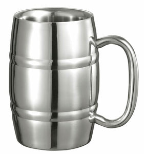 BIG COOPER DOUBLE WALLED STAINLESS STEEL MUG - 13 OUNCES
