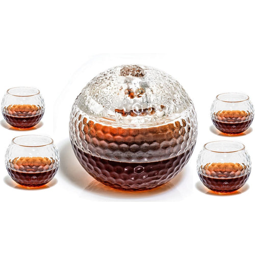 Golf Ball Decanter Bundle