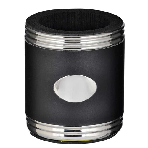Taza Black & Stainless Steel Can Holder - Can Holder