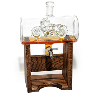 Motorcyclists Decanter