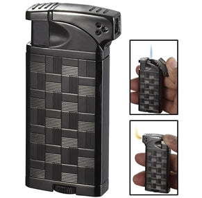 Coppia All-in-One Gunmetal Cigar, Cigarette and Pipe Lighter
