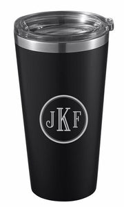 CHANCELLOR INSULATED MATTE BLACK 20 OZ TUMBLER