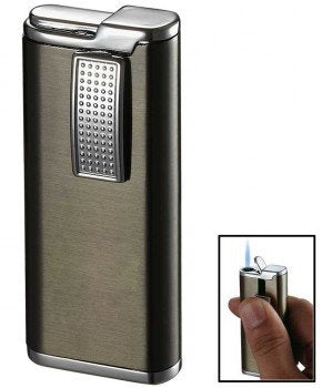 Condor Gunmetal Wind-Resistant Torch Flame Lighter