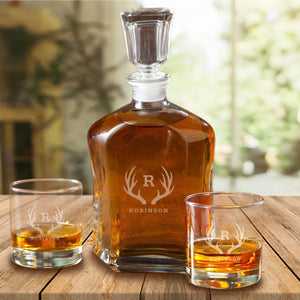 Personalized Decanter Set