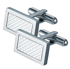 Malcom Rectangular Stainless Steel Cufflinks