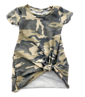 Sophie Camo T shirt dress