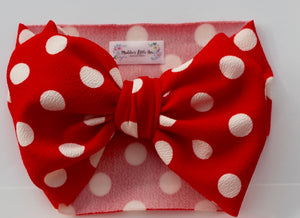 Disney Red polka dot headwrap