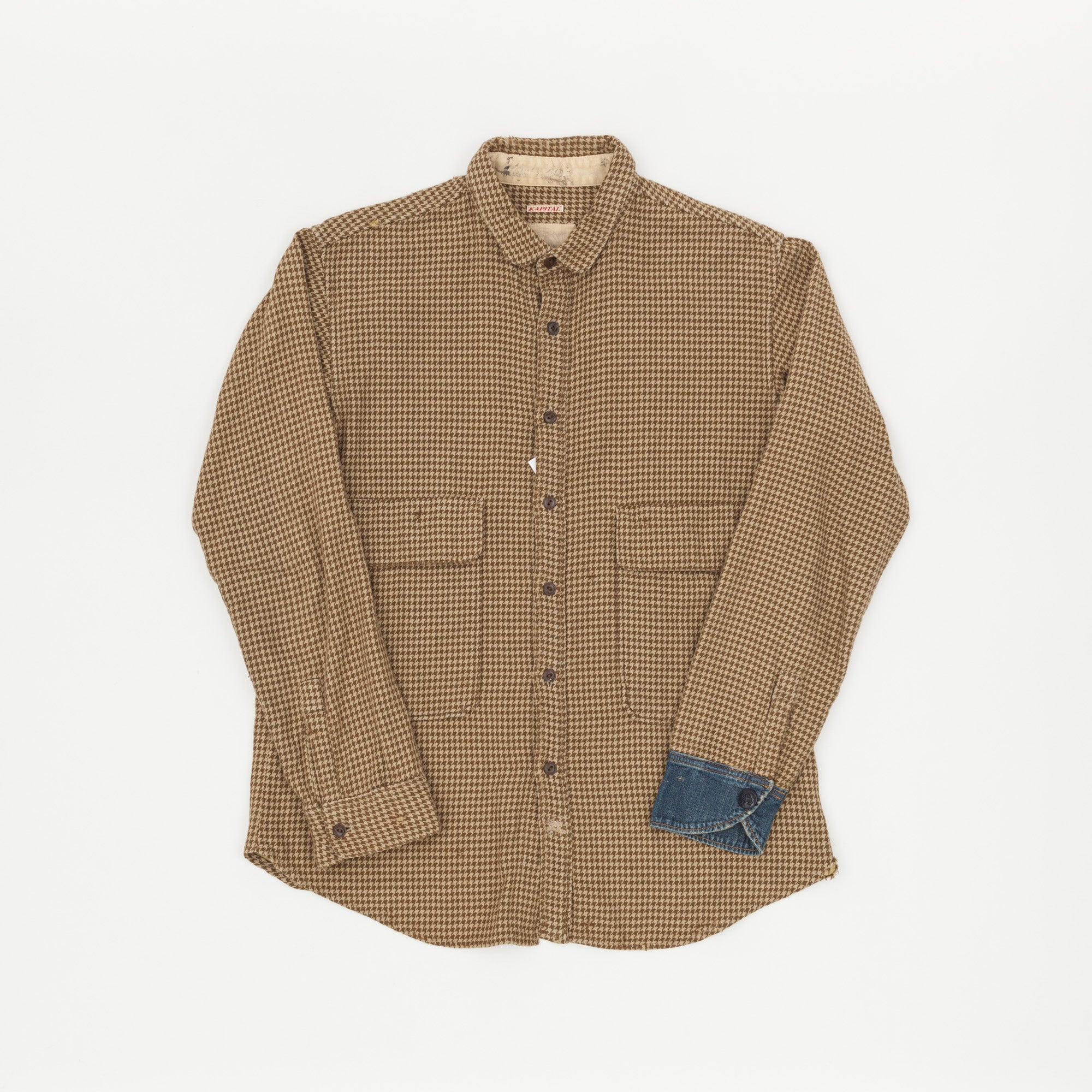 Kapital Houndstooth Work Shirt