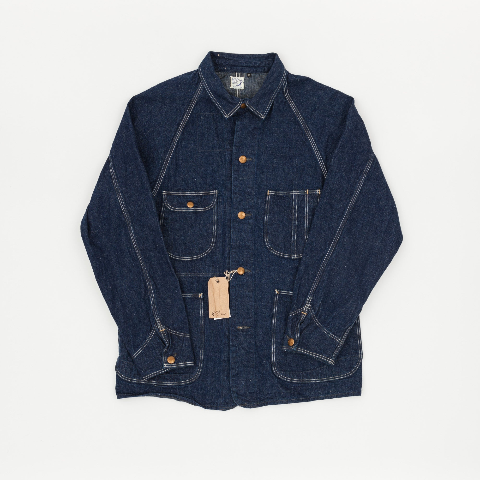 Orslow 1950s Coverall Denim Jacket