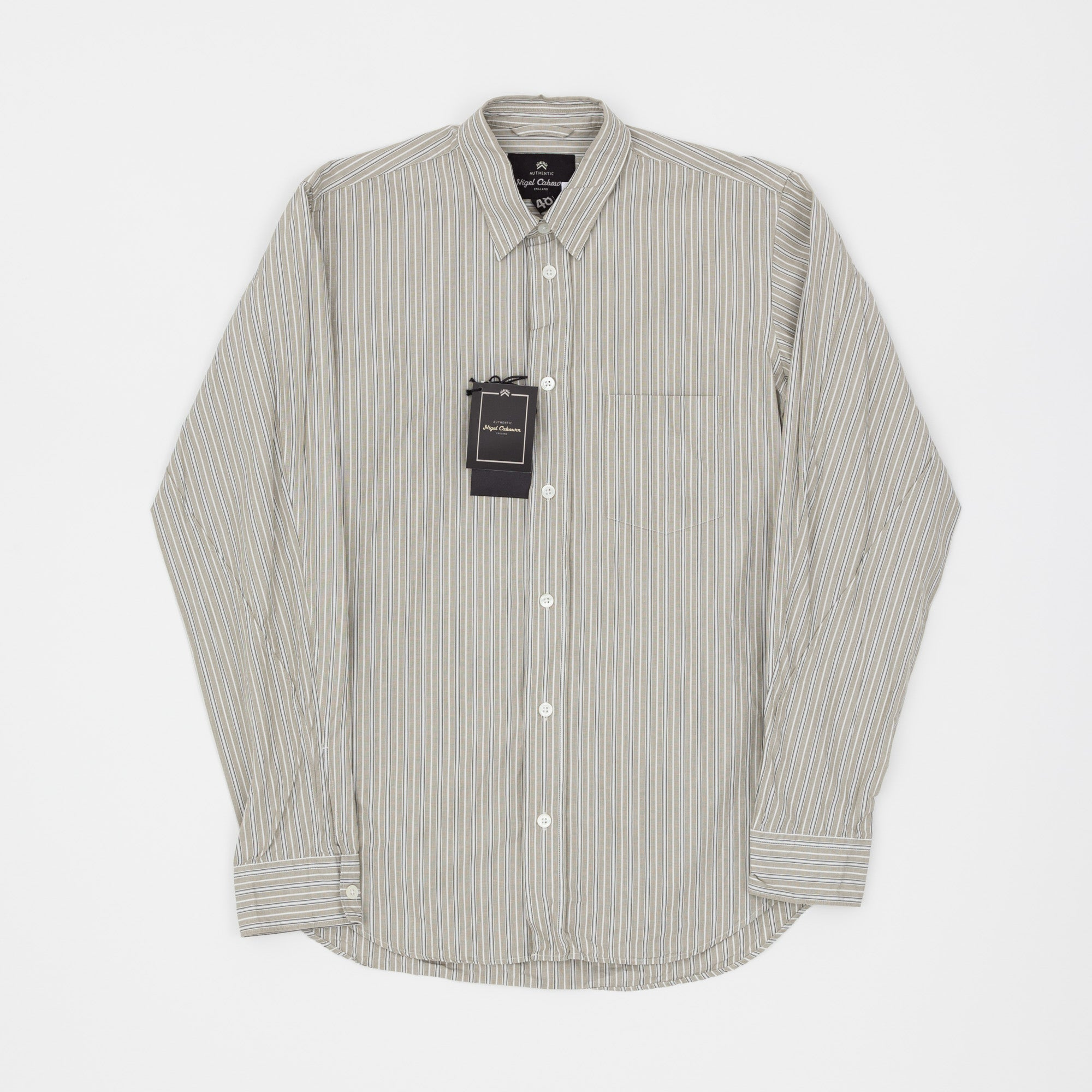 Nigel Cabourn Formal Stripe Shirt