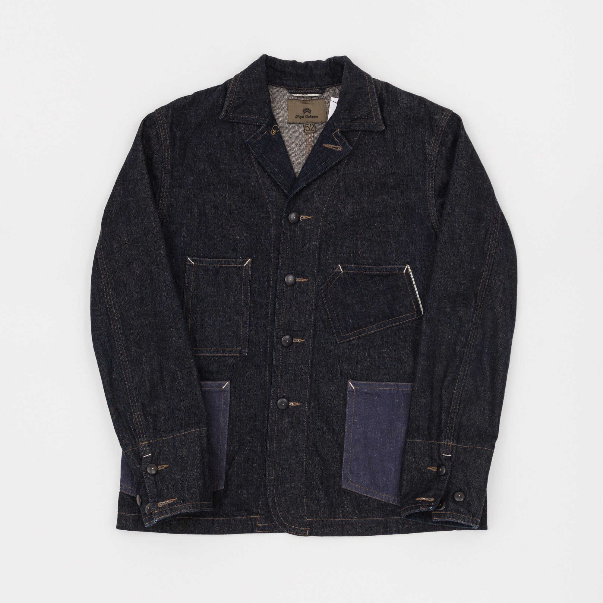 Nigel Cabourn Denim Chore Jacket