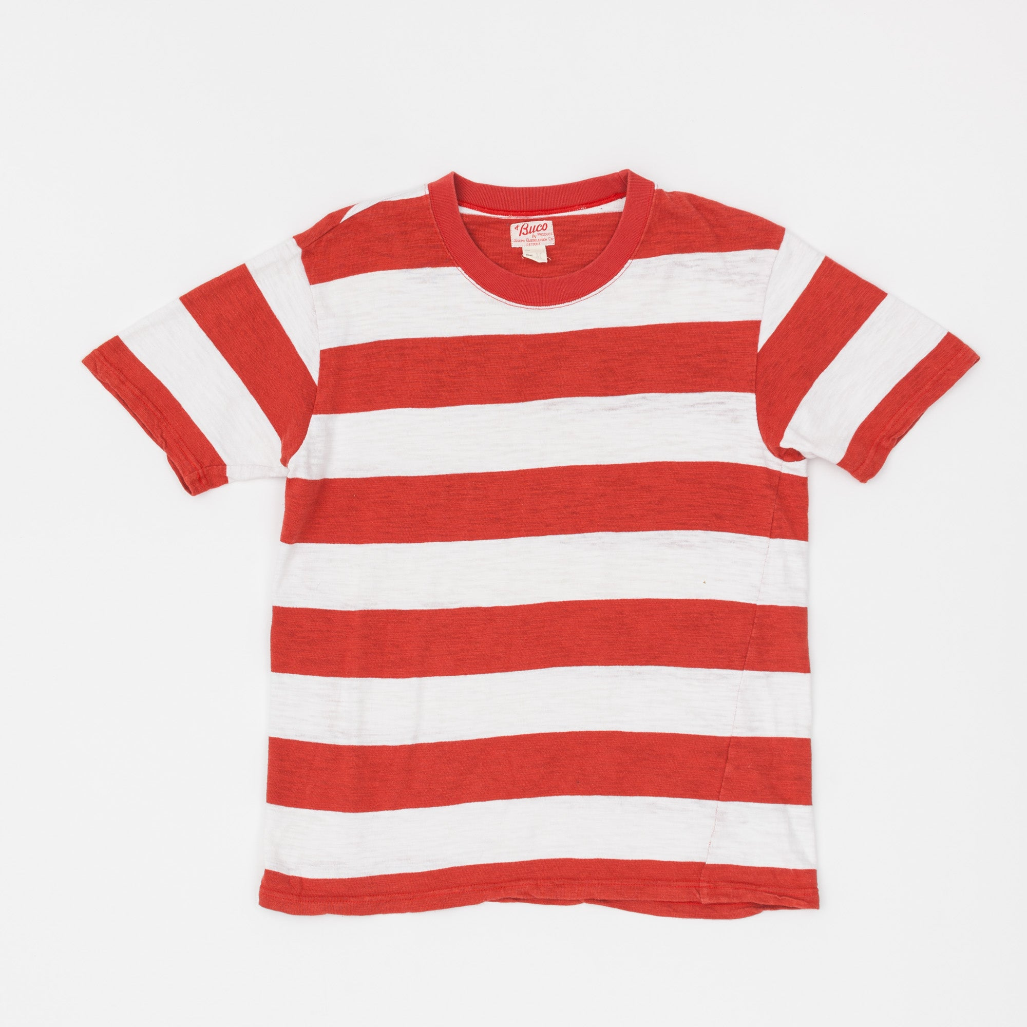 The Real McCoy's Buco Striped T-Shirt