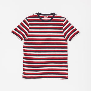 The Real McCoy's Striped T-Shirt
