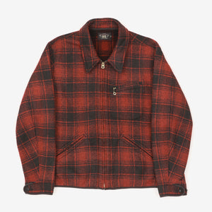 Weist Plaid Fleece Jacket