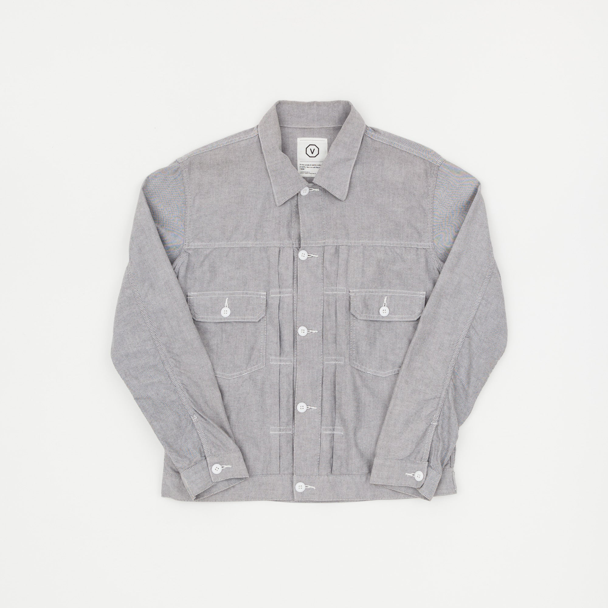 Visvim 101 Chambray Light Jacket