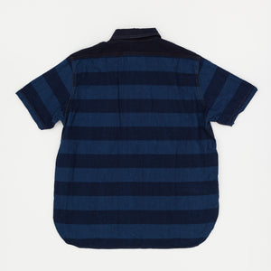Nigel Cabourn Short Sleeve Striped Pullover