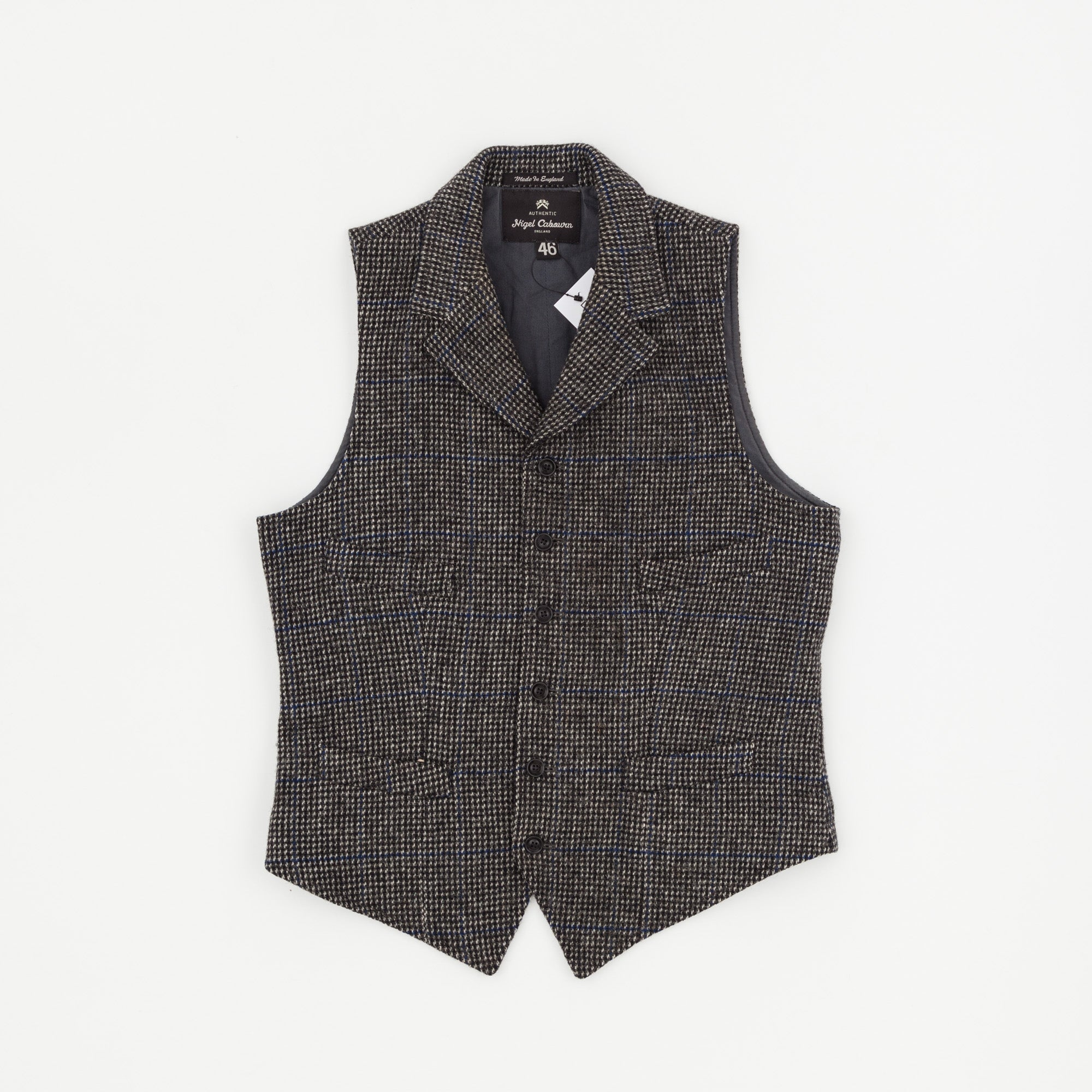 Nigel Cabourn Harris Tweed Mallory Vest