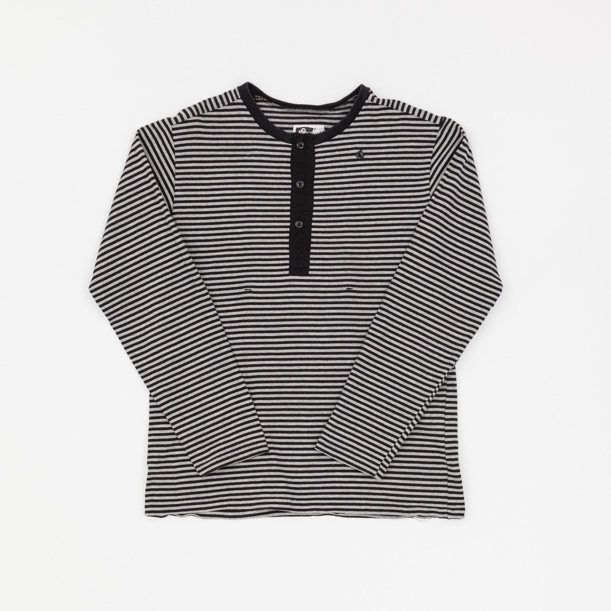 Engineered Garments Striped Henley