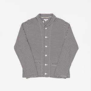 Engineered Garments Sailor Stripe Jersey Shawl Cardigan