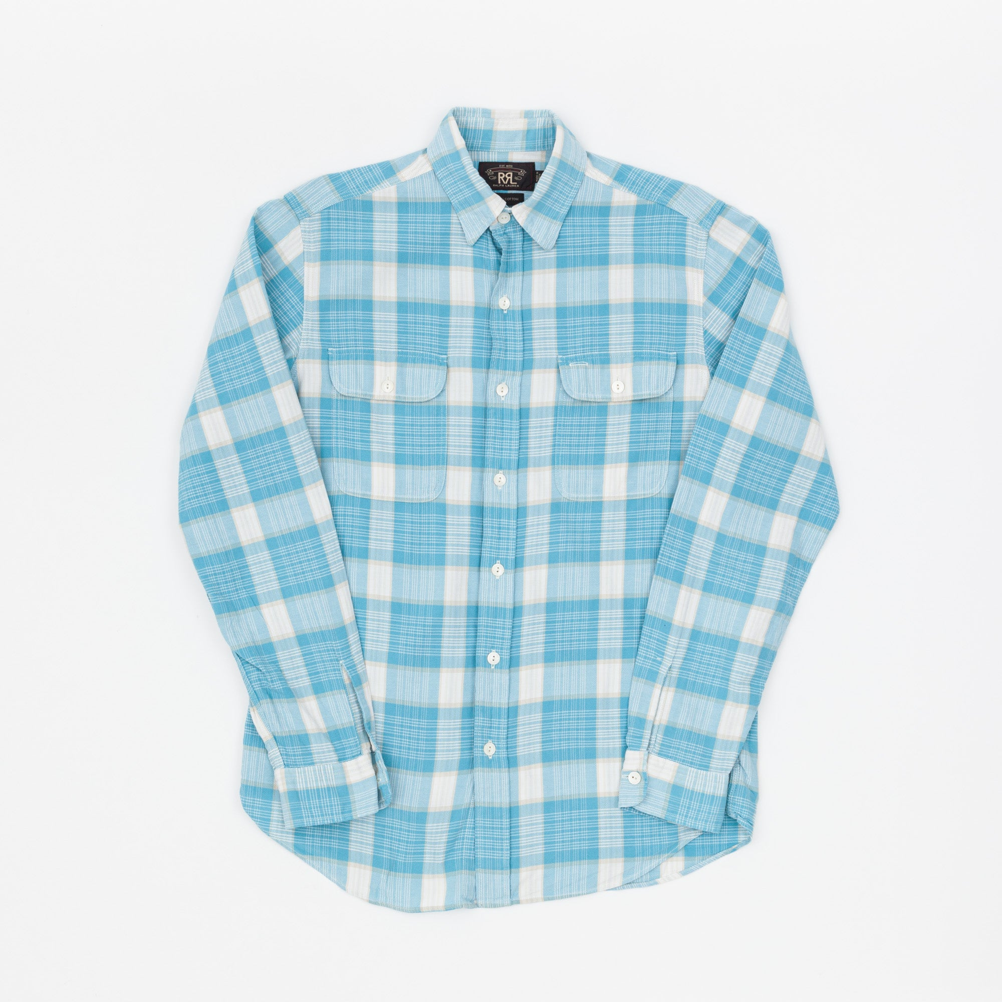 RRL Plaid Check Work Shirt