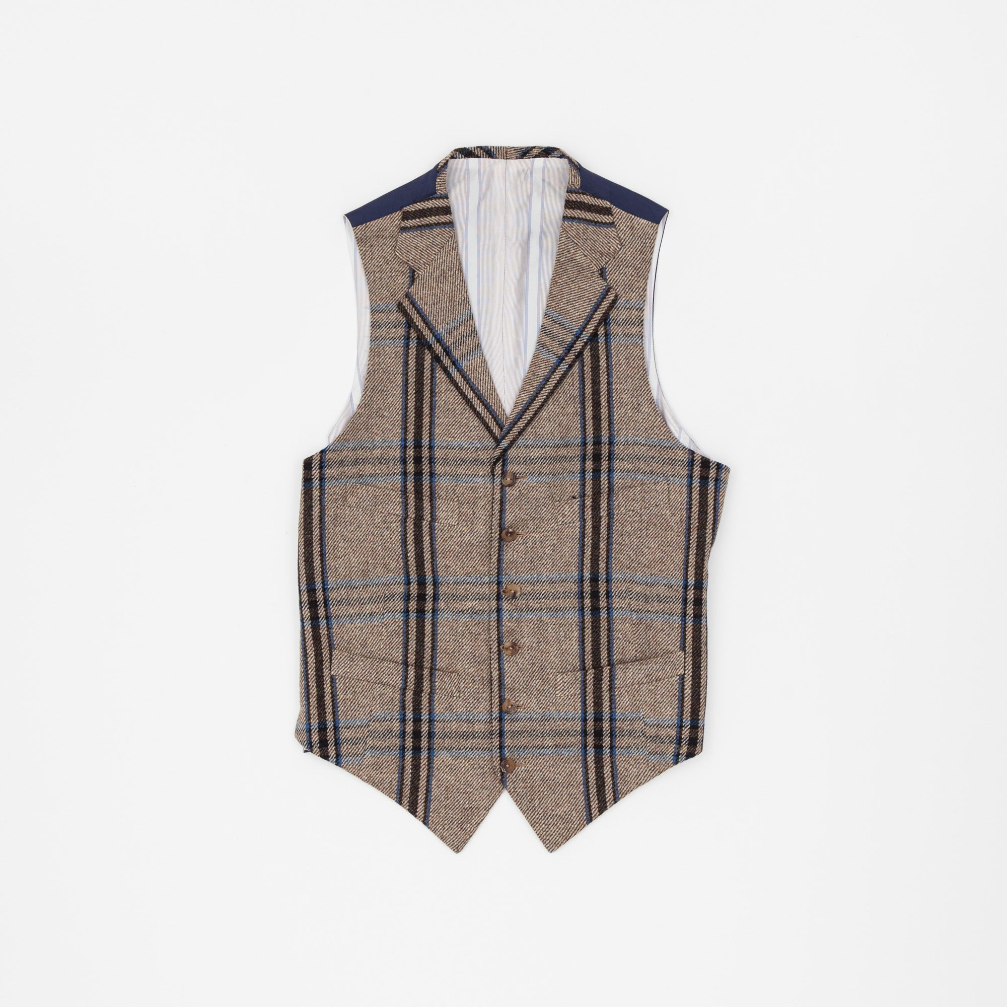 Huntsman Horse Tweed Vest