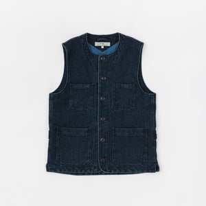 Freemans Sporting Club Overdyed 4 pocket Vest