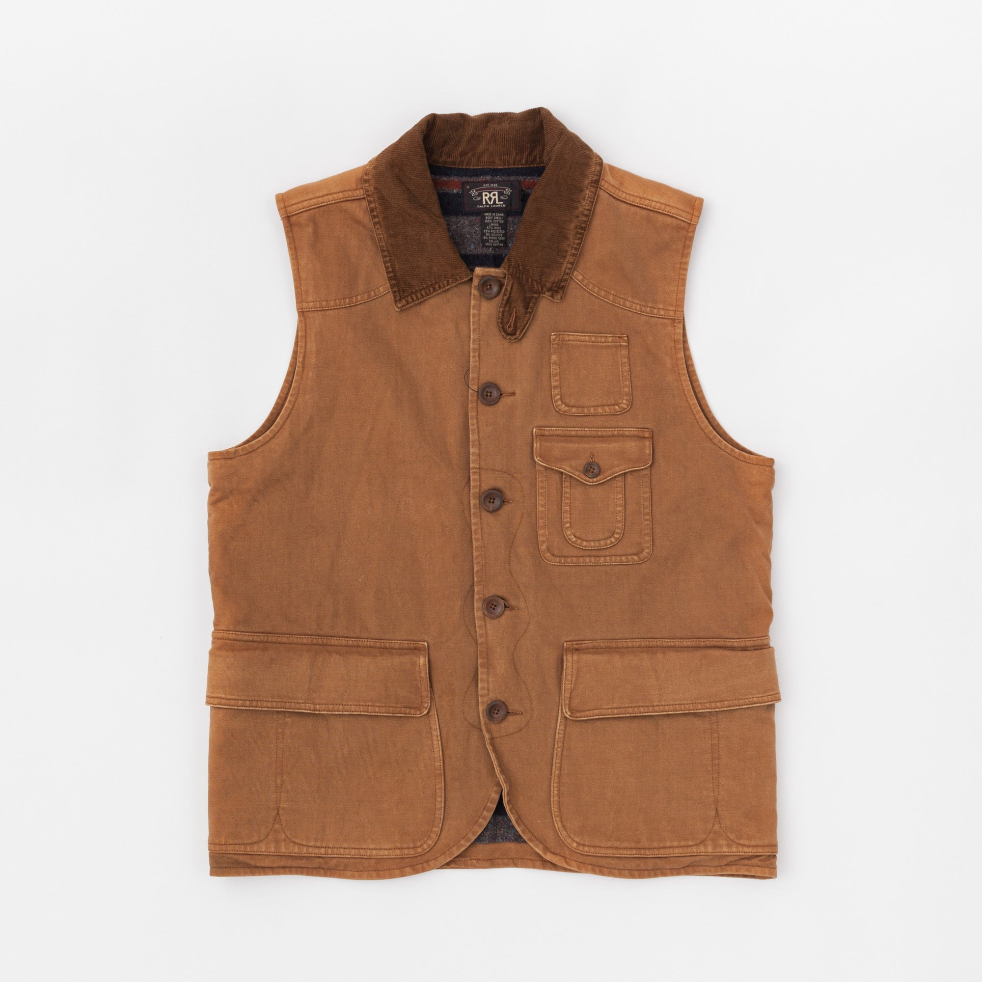 Blanket Lined Hunting Vest