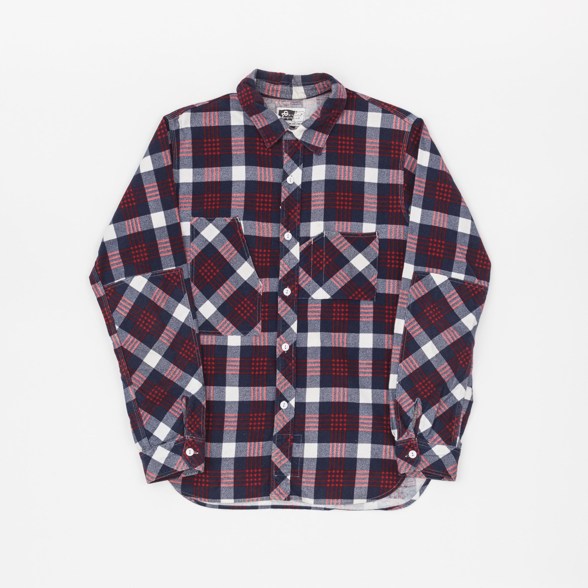 Engineered Garments Plaid Flannel Shirt