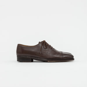 Bespoke Calf Cap-Toe Oxford Shoe