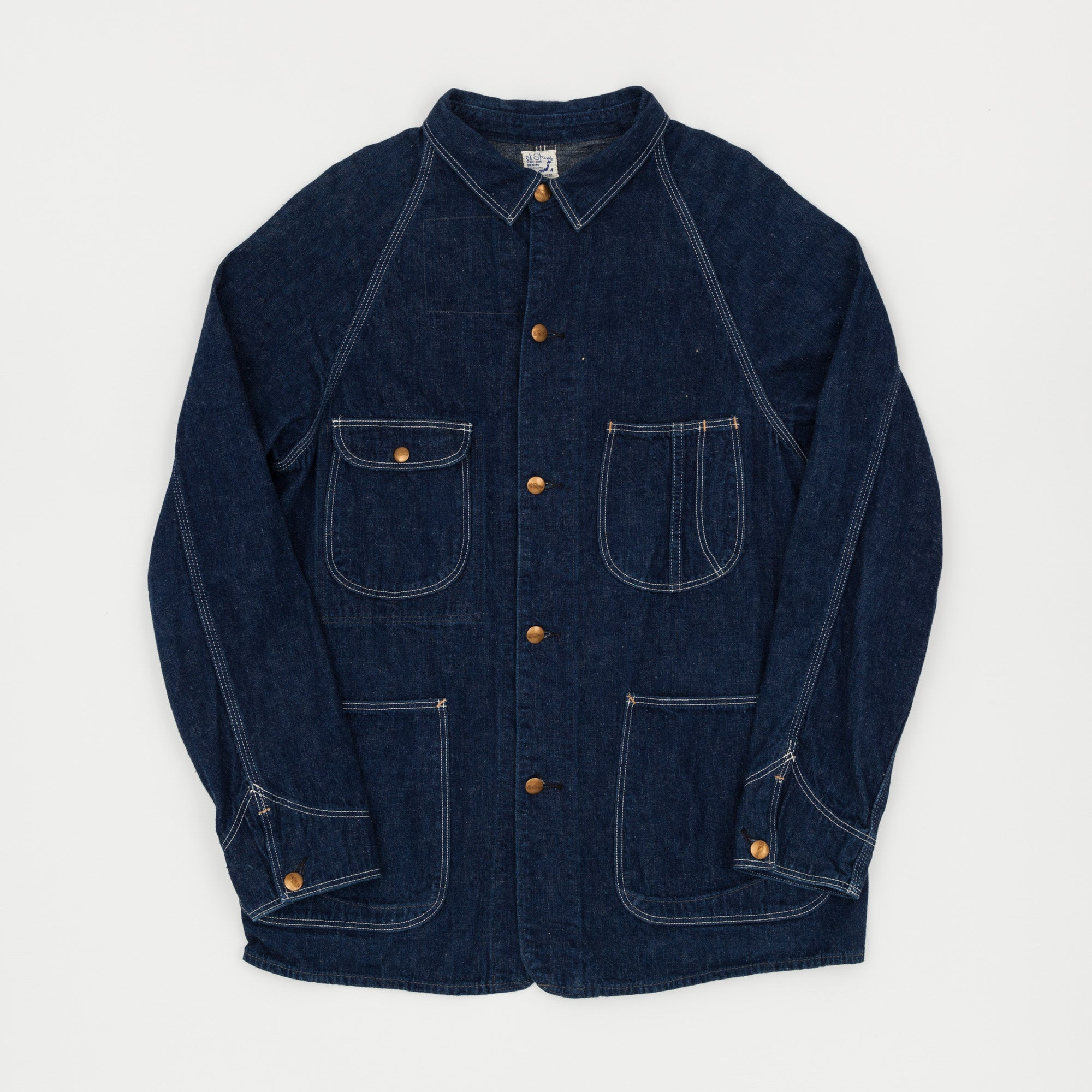 Orslow Denim Coverall Jacket