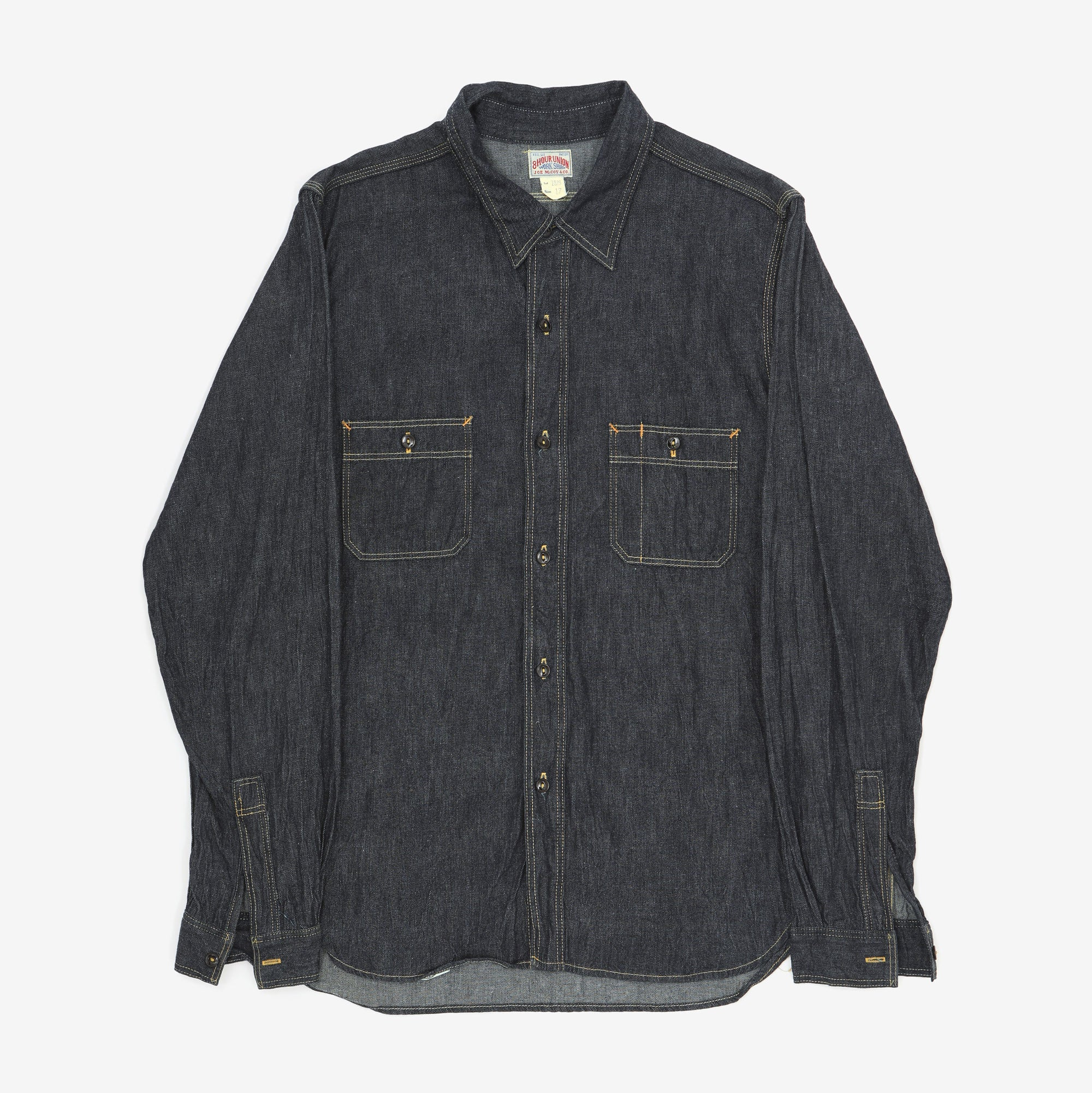 8HU Denim Serviceman Shirt