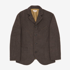 Double Diamond Wool Blazer