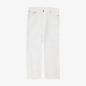 Joe McCoy's Lot 991 White Denim