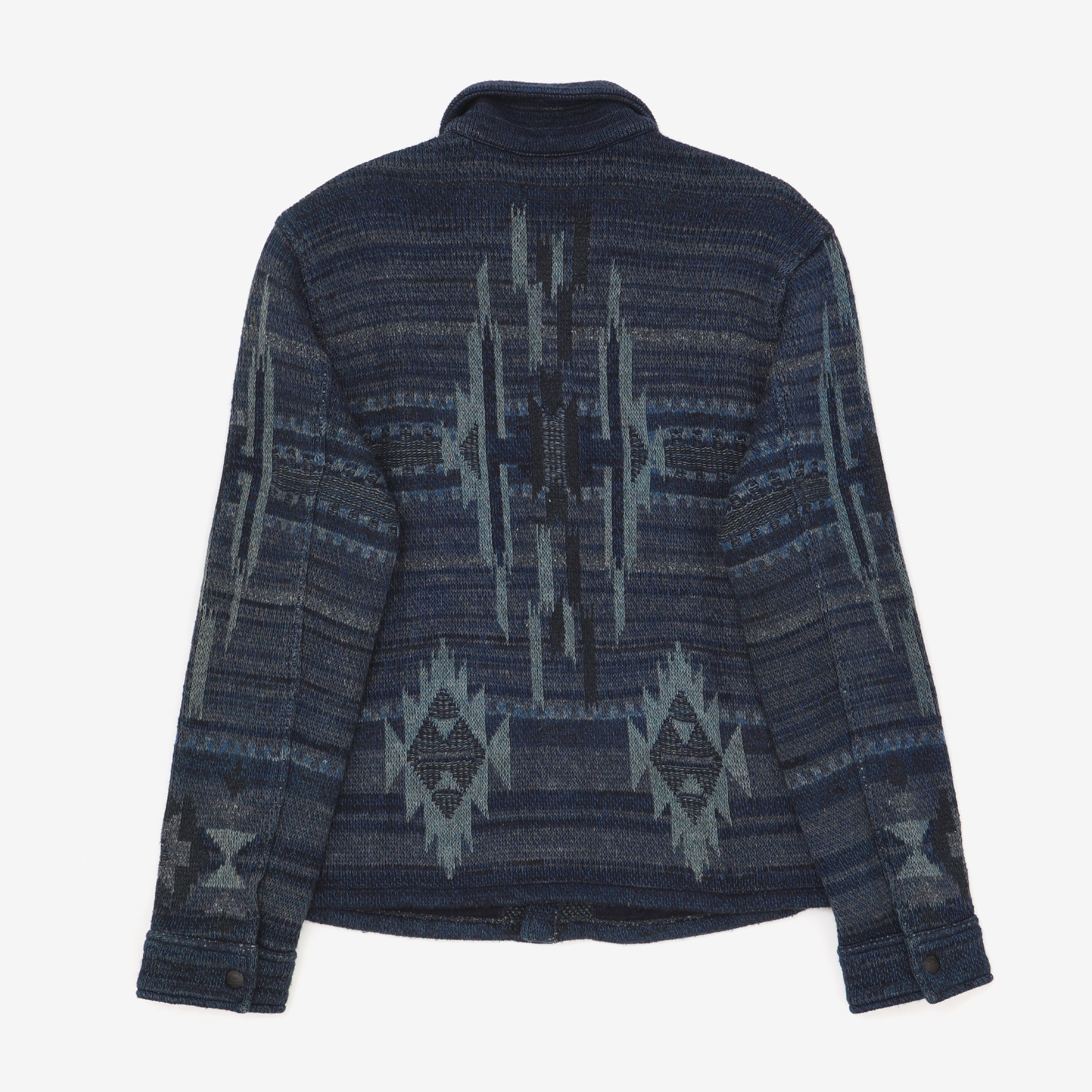 Jacquard Knitted Jacket