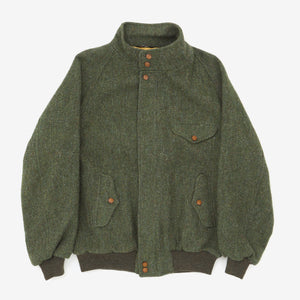 Military Inspired Tweed Jacket