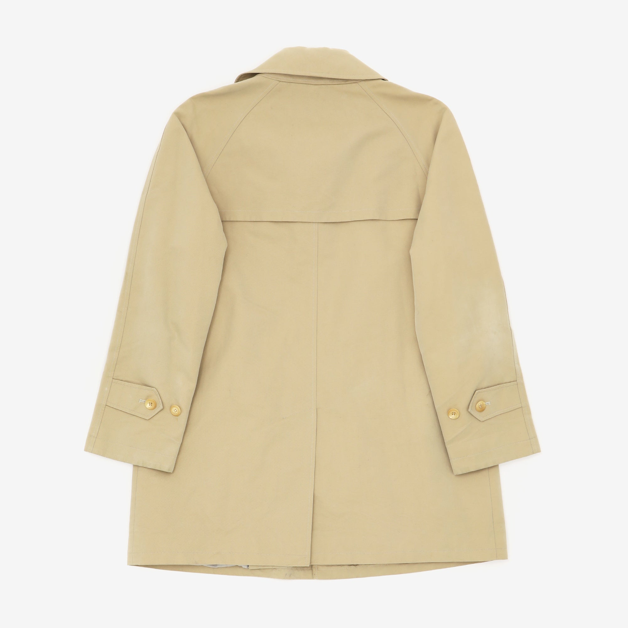 Single Breast Trench Coat