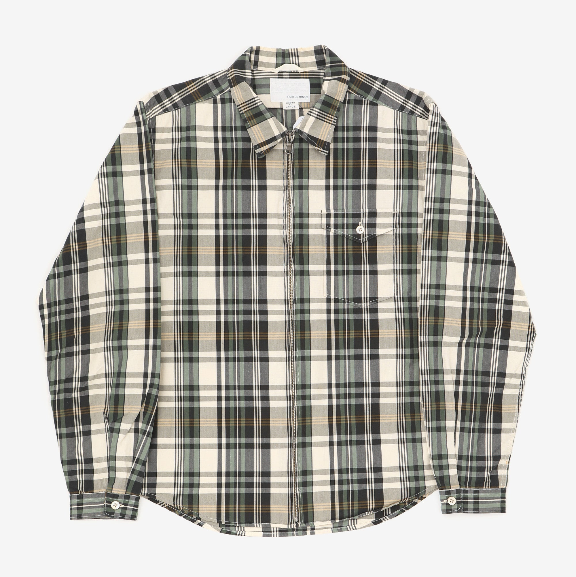 Madras Check Wind Jacket