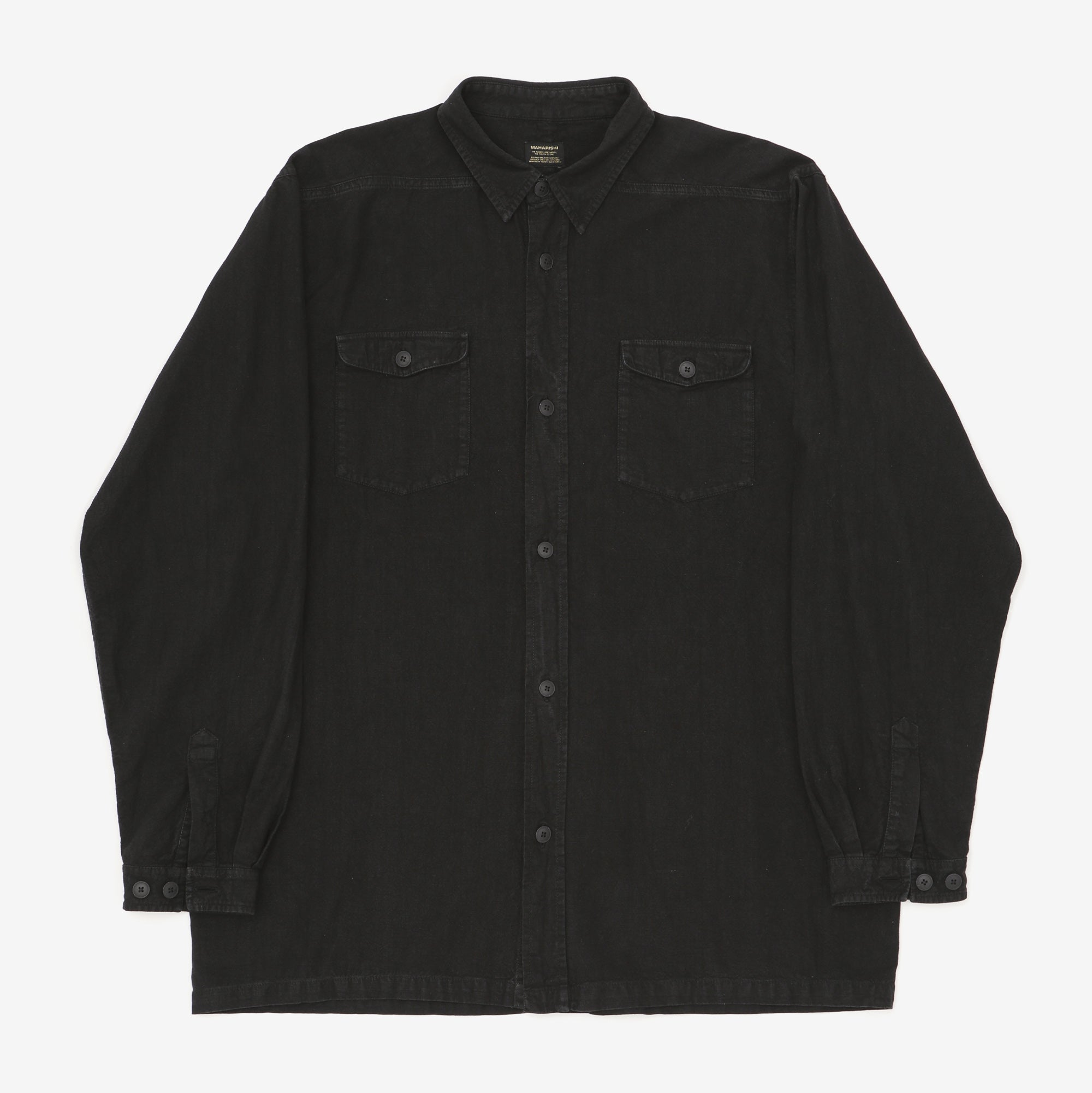 Crushed Hemp 170 Work Shirt