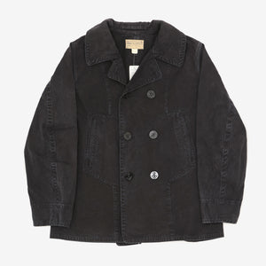 Cotton Canvas Pea Coat