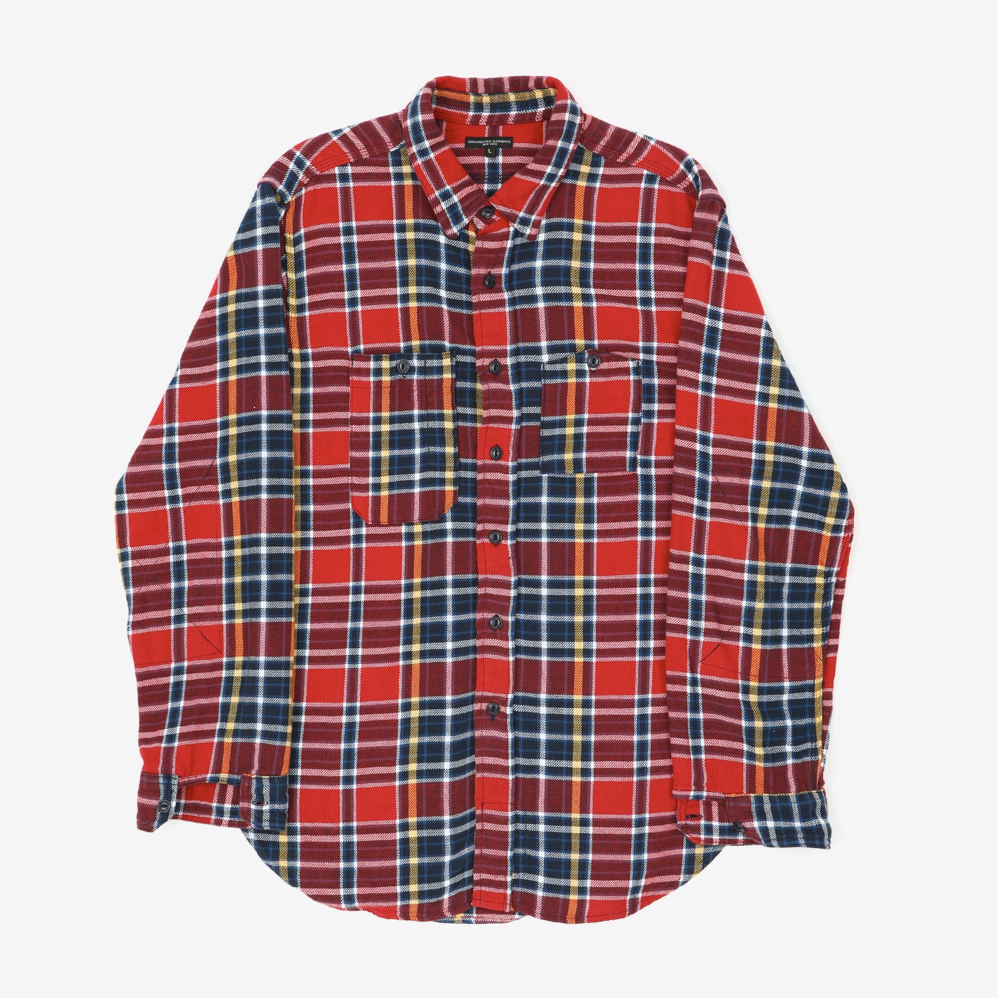 Check Flannel Work Shirt