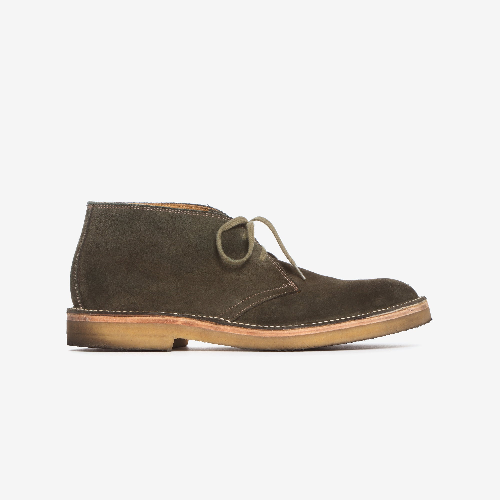 Japanese Suede Military Desert Boots