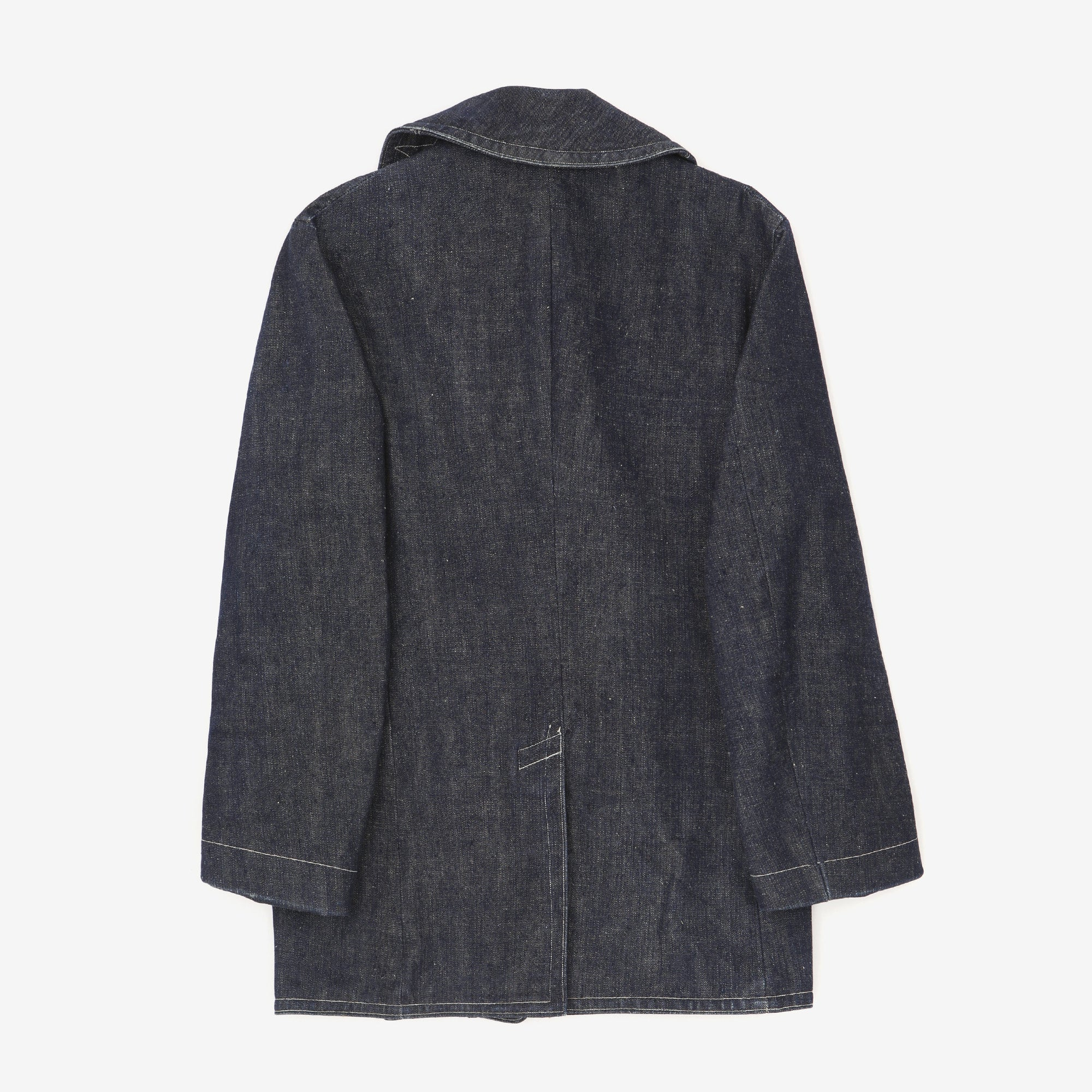 U.S Navy Denim Pea Coat
