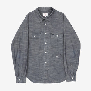 Chambray Indigo Camp Shirt